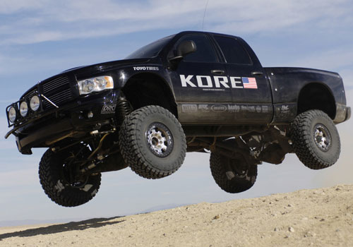 No Dodge Lift Kit Here - This is REAL Dodge RAM Suspension
